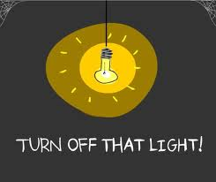 turn off light